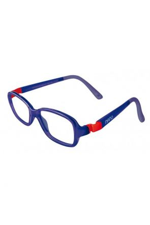 Crystal Navy / Red